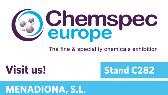 MENADIONA IS EXHIBITING AT CHEMSPEC